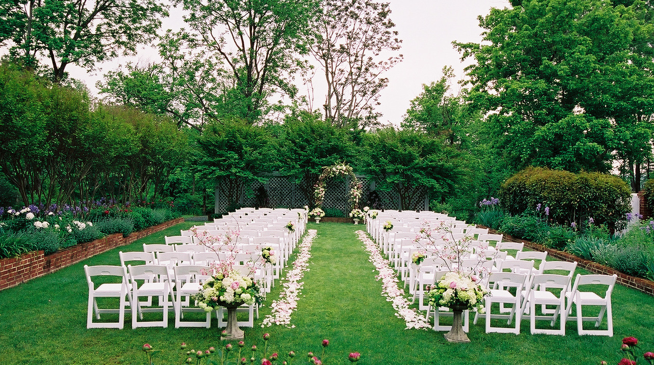 Creative Ideas Making Your Garden Wedding Memorable Talking City