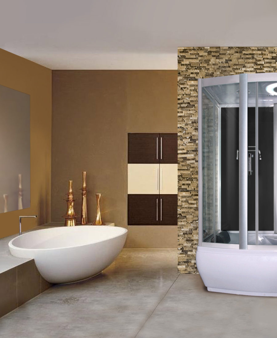 Squeeze Some Luxury Into Your Mobile Home With A Steam Shower