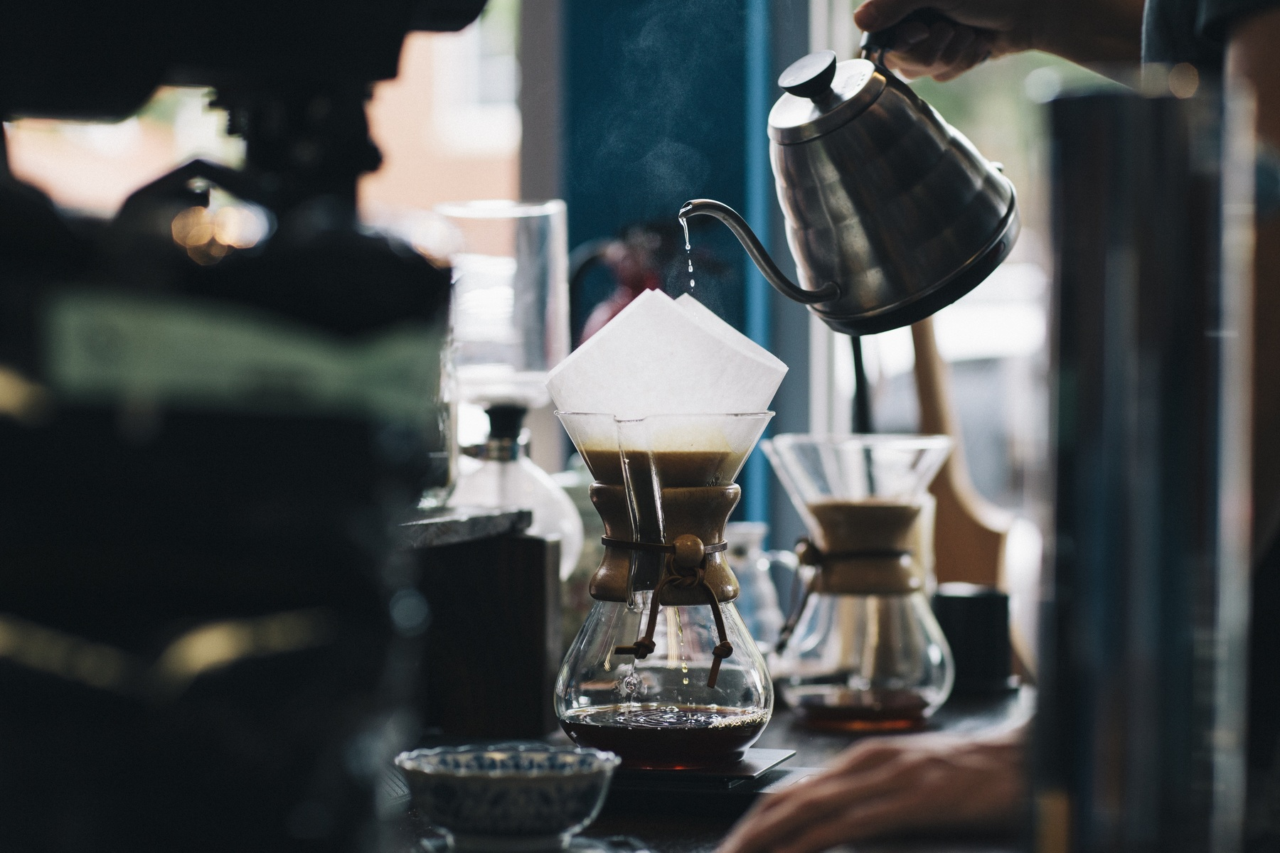 Efficient Working Of A Barista Hiring Approach